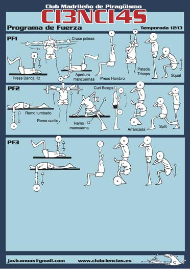 Programa Fuerza 2014-15