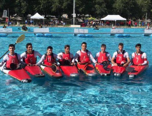 Ciencias acaba tercero en Nacional de Kayakpolo