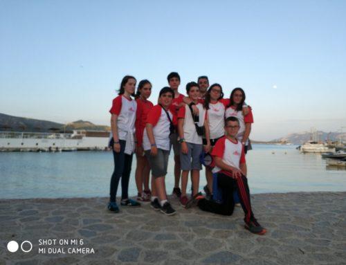 Los pequeños de pista al Nacional en Mallorca.