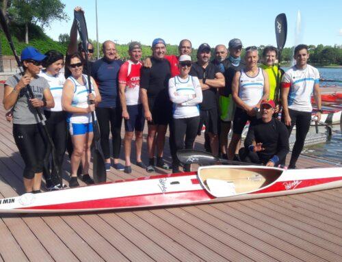 Exito en la IV regata de kayak-turismo en el Lago
