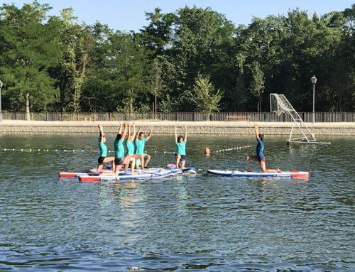 El SUP Yoga novedad en el Lago.