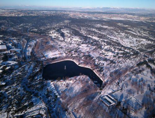 Filomena y el frio atacan el Lago